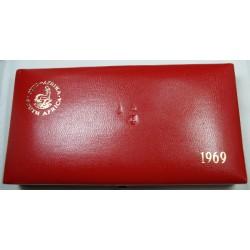 AFRIQUE DU SUD, Coffret Proof 1969 set KM PS74 FDC