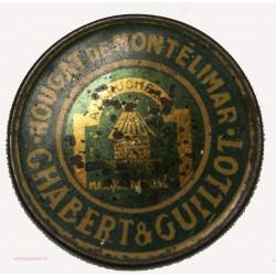 RARE TIMBRE MONNAIE - Nougat de Montélimar Chabert & Guillot