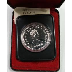 CANADA - dollar Jubilé d' argent 1952-1977 dans coffret, lartdesgents.fr