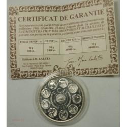 ECU Europa, Argent 925/00 40grs 1981 + certificat, lartdesgents.fr