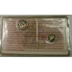 BAHAMAS- Commémoration de l'indépendance 1973 10$ et 20$ or PF60