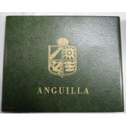 ANGUILLA PROOF SET, 4 pièces or et 4 pièces argent 1967 N°500