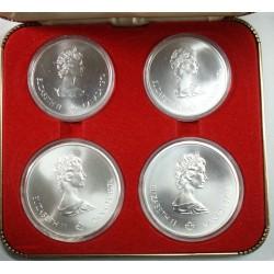 CANADA - coffret 5$ et 10$, Olympiade de Montréal 1976