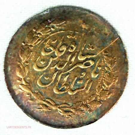 PERSE or - 2000 Dinars 1/5 toman AH1299 (1882), lartdesgents.fr