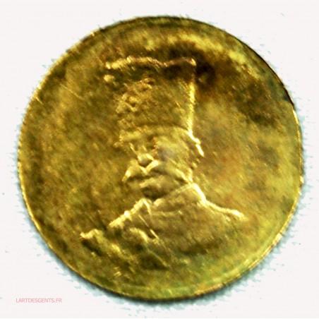 PERSE or - 1000 Dinars 1/10 toman ND, lartdesgents.fr