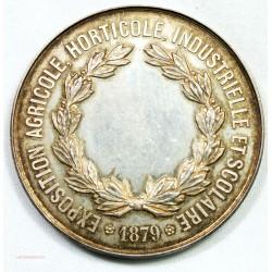 Médaille argent, Expo agricole Horticulture et scolaire Beauvais 1879
