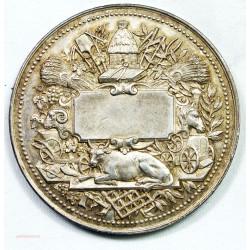 Médaille argent SOCIETE DES AGRICULTEURS DE FRANCE par C. TROTIN