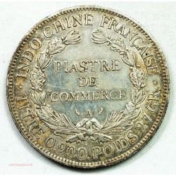 Indochine Française, Piastre 1908 par BARRE, lartdesgents.fr Avignon