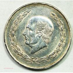 MEXIQUE - 5 Pesos 1853 Hidalgo