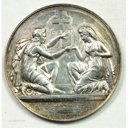 Médaille argent Mariage Chrétien par PINGRET, lartdesgents.fr Avignon