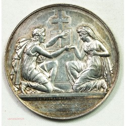 Médaille argent Mariage par DE PUYMAURIN 26grs, lartdesgents.fr Avignon