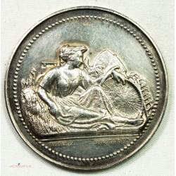 Médaille Argent Agriculture de BEAUVAIS 1884, Cantonal BRESLES par ROGAT
