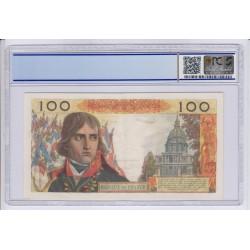 100 NF Napoléon Bonaparte 5-10-1961 AU 58 PCGS