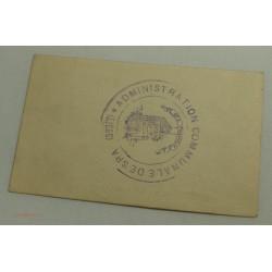 NOTGELD belgique (liège) Ville de SPA 25CTS NEUF 1915