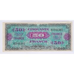 BILLET FRANCE 50 FRANCS 1944 L'art des gents Avignon
