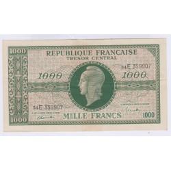 BILLET FRANCE 1000 FRANCS MARIANNE 1945 L'ART DES GENTS