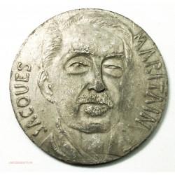 Médaille Jacques MARITAIN (thomisme) par M. CHAUVENET, lartdesgents.fr