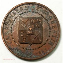 Medaille CARABINIERS DE ST QUENTIN,  aux soldats 1871 par THENARD