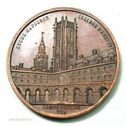 Médaille Lycée NAPOLEON collège Henri IV 1867 par CAQUE, lartdesgents.fr