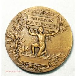 Médaille Association Polytechnique (Photographie 1922-23) par H. DUBOIS