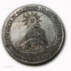 Médaille Simon Bolivar 1825 Lberateur de la Colombie et du Perou