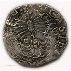 Espagne – 2 Réales Roi Catholique - SEVILLE Flèches pointe vers le bas