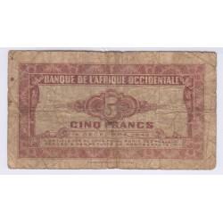 BILLET AFRIQUE OCCIDENTALE 25 FRANCS 10 Mars 1938 TTB L'ART DES GENTS AVIGNON