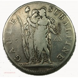 ITALIE SUBALPINE - 5 Francs l'An 10 Turin, lartdesgents.fr
