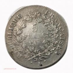UNION ET FORCE - 5 Francs AN 4 A, lartdesgents.fr Avignon