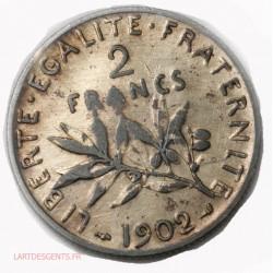 France moderne, 2 Francs semeuse 1902