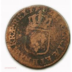 LOUIS XVI demi sol à l'écu 1782 La Rochelle