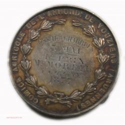 Médaille argent, L'agriculture est digne de tous les honneurs, Vouziers