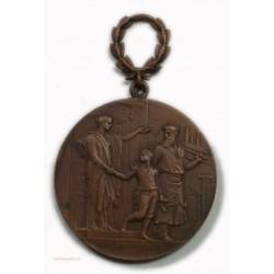 Médaille EX. LABORE. GLORIA PRO PATRIA par VERNON