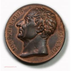 Medaille cuivre Joseph Louis LAGRANGE par DONADIO.F