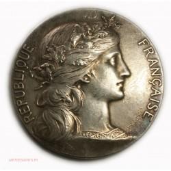 Médaille bronze argenté par Daniel Dupuis, lartdesgents.fr