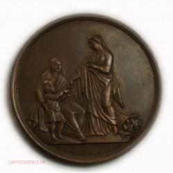 Médaille Quête pour les pauvres 2ème arrond. Paris 1872-73, lartdesgents.fr