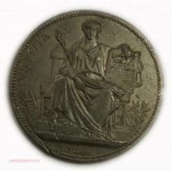 rare Médaille Justice étain - Béziers 1892, lartdesgents.fr