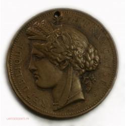Médaille Exposition Universelle Paris 1878 Par Oudiné, A. Dubois