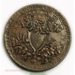 Médaille SUISSE, VAUD CENTENAIRE DE L' INDEPENDANCE 1897