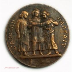 Médaille Concours de dictée Paris 18ème 1883 par Daniel Dupuis