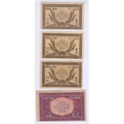 BILLET INDOCHINE 100 FRANCS 1960 PAPEETE L'ART DES GENTS AVIGNON