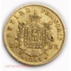 20 francs or 900/00 22 carats 06.45grs environ Investissement*