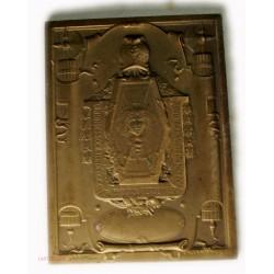 Médaille plaque, préparation service militaire par Abel La Fleur