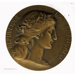 Médaille Cérès du SYNDICAT DES PECHEURS ET RIVERAINS DE FRANCE par DUPUIS