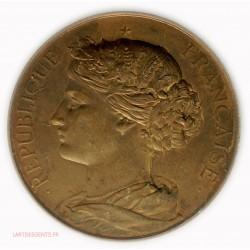 Médaille Marianne République Française par A. BERTRAND, lartdesgents.fr
