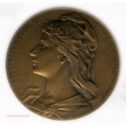 Médaille Banquet des Maires et adjoints de Paris 1932 par BOTTEE