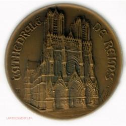 Médaille Cathédralle de REIMS, cours ST Louis 1923