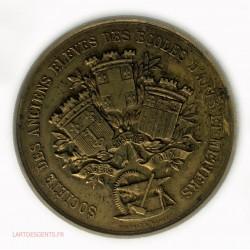 Médaille sté des anciens élèves des écoles d'arts et métiers par AMUAT & HARDY
