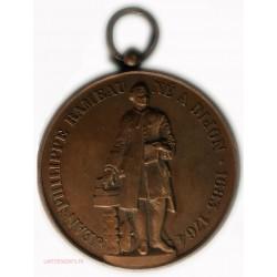 Médaille Jean philippe RAMEAU - Fêtes Nationales 13 Aout 1870