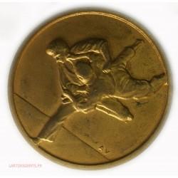 Médaille de JUDO championnats de FRANCE, Equipes excellèce 1er (ND) par AV